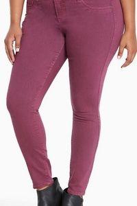 Torrid plum purple 18 xt jegging jeans cute